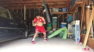 Boxing bag work Everlast nevatear bag review in description