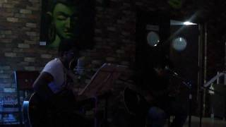 "Cover version of ""Nenjukkul Peidhidum"" by Nadeem - Rajesh at Aioli BBQ & Grill Smoke House"
