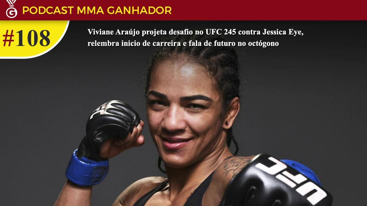 Podcast MMA Ganhador #108 com Viviane Araújo