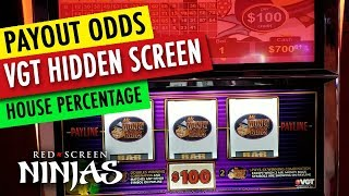 INSIDE A VGT SLOT MACHINE MENU REPORTS!!! WATCH BEFORE THEY REMOVE THIS VIDEO!!!