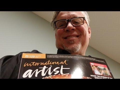 International Artist Magazine April/May 2018 Daryl Urig