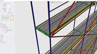 Çelik İskele Hesap ve Detay Çizimleri (Eğitim)