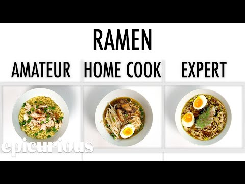 4-levels-of-ramen:-amateur-to-food-scientist-|-epicurious