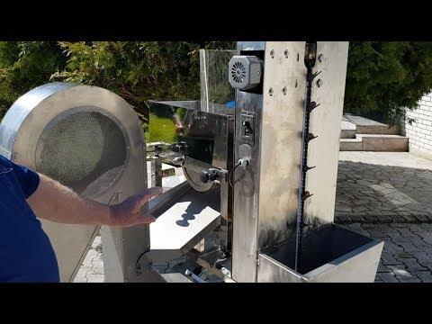Stroj Za Luščenje Lešnikov - Hazelnut Cracking Machine