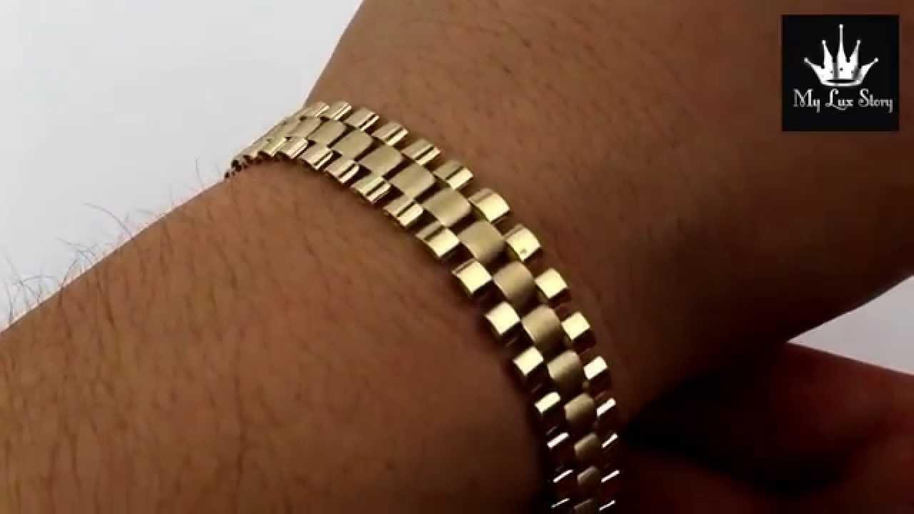 10k Rolex Bracelet 10mm