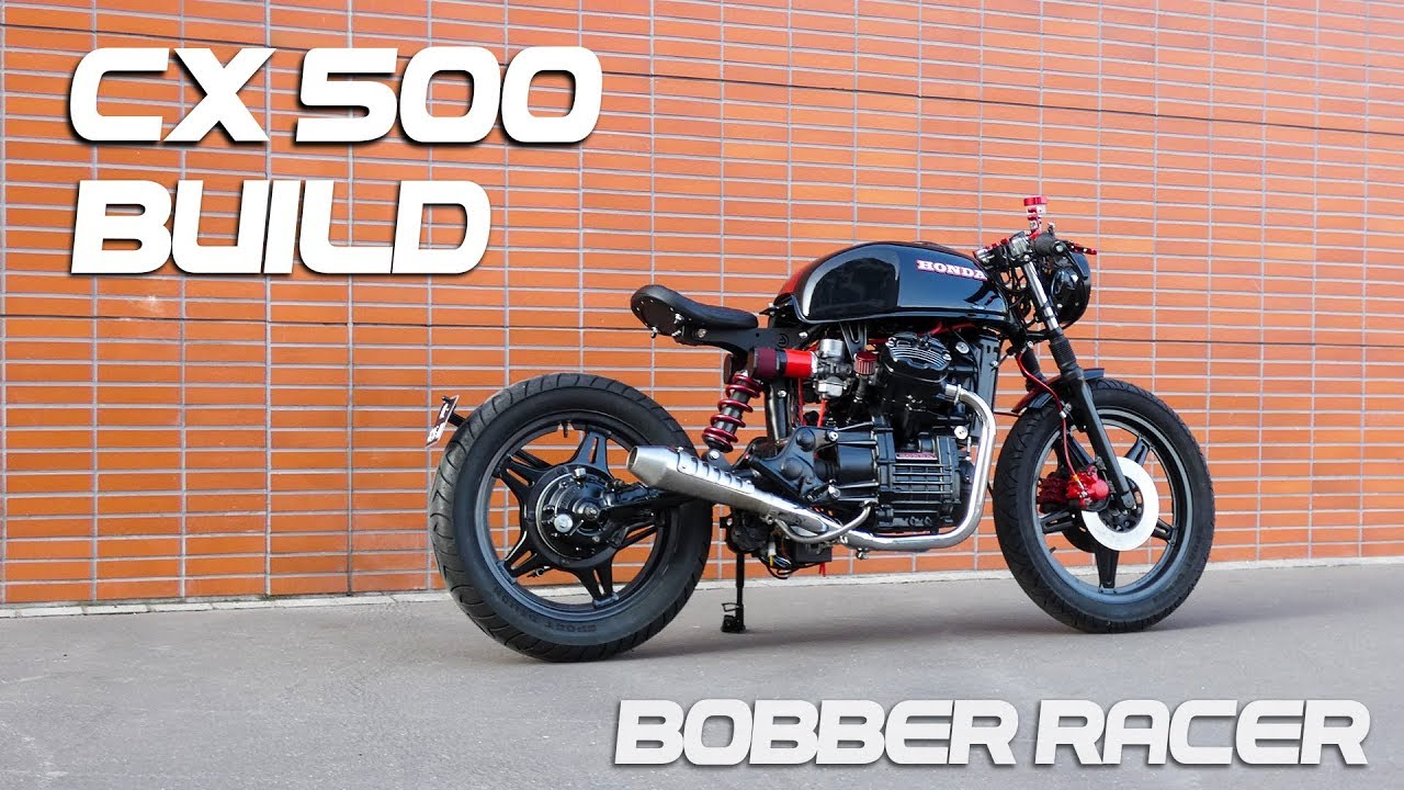 Super Cafe Racer Timelapse Build - Honda CX 500 Bobber Racer - YouTube ZW28