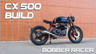 Cafe Racer Timelapse Build - Honda CX 500 Bobber Racer
