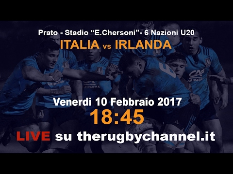 RBS 6 Nations U20  ITALY v IRELAND -  10/02/2017 #ITAvIRe