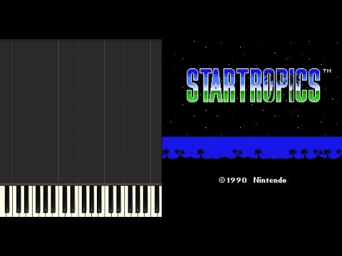 StarTropics | Shecola Chief [NES] Synthesia