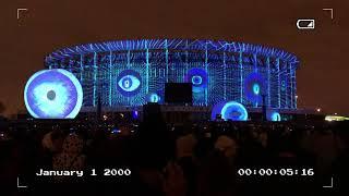 3D световое и лазерное шоу. Санкт-Петербург 2018, СКК.