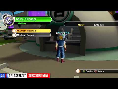Dragon Ball XenoVerse How to EQUIP HEALTH CAPSULES & Energy Capsules