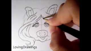 The Muppet Show-Learn to draw Miss Piggy