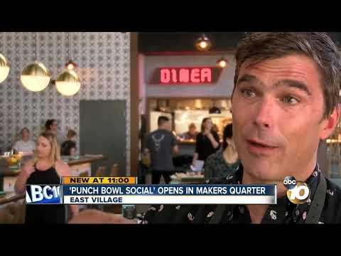 'Punch Bowl Social' Entertainment Complex Opens