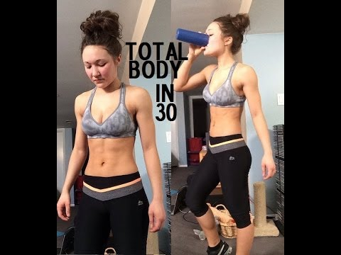 30min At Home Total Body HIIT Workout for Weight Loss ...