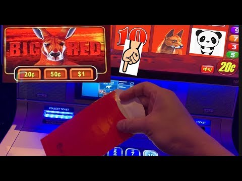 Has anyone ever handed you lucky money? Big Win on Big Red 🦘❗️