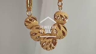 Jewelry NUVO Openwork Cutting Ball Bracelet 01