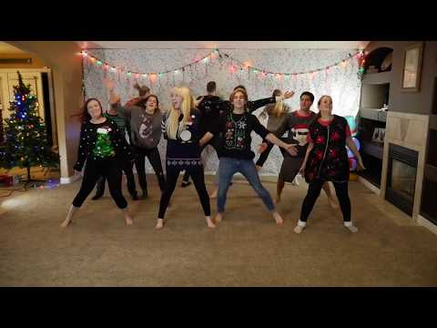 Christmas Dance 2017 - 8 Siblings (Santa Tell Me - Ariana Grande)