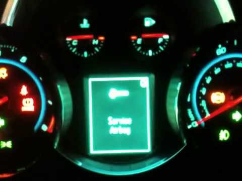 Chevy Cruze Service Stabilitrak And Check Engine Light