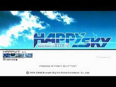 beatmania IIDX 12 HAPPY SKY Title Screen