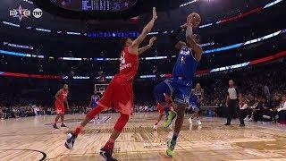 Giannis Antetokounmpo BLOCKS LeBron James - 2020 NBA All-Star Game