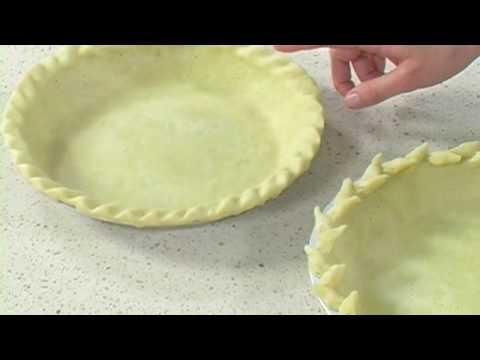 How To Crimp Decorative Pie Crusts