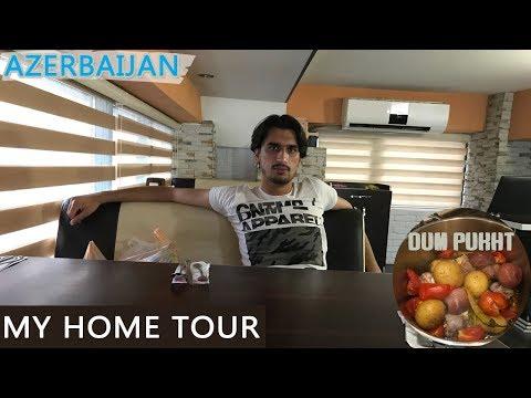 MY Home Tour In Azerbaijan Baku | syed shahnam