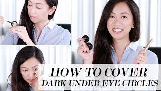 How To Cover Up Dark Under Eye Circles, dark under eye circles