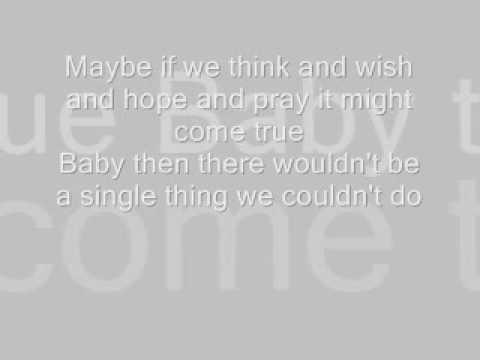 Wouldn't It Be Nice Lyrics