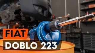 Montaje Amortiguadores traseros FIAT DOBLO Cargo (223): vídeo gratis