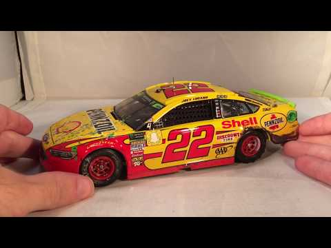 Review: 2018 Joey Logano #22 Shell-Pennzoil Homestead Championship Win Ford 1/24 NASCAR Diecast