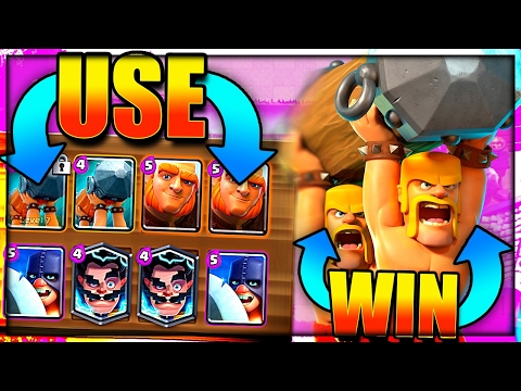 THESE CARDS WIN BATTLE RAMS EASY! Clash Royale Battle Ram Tips