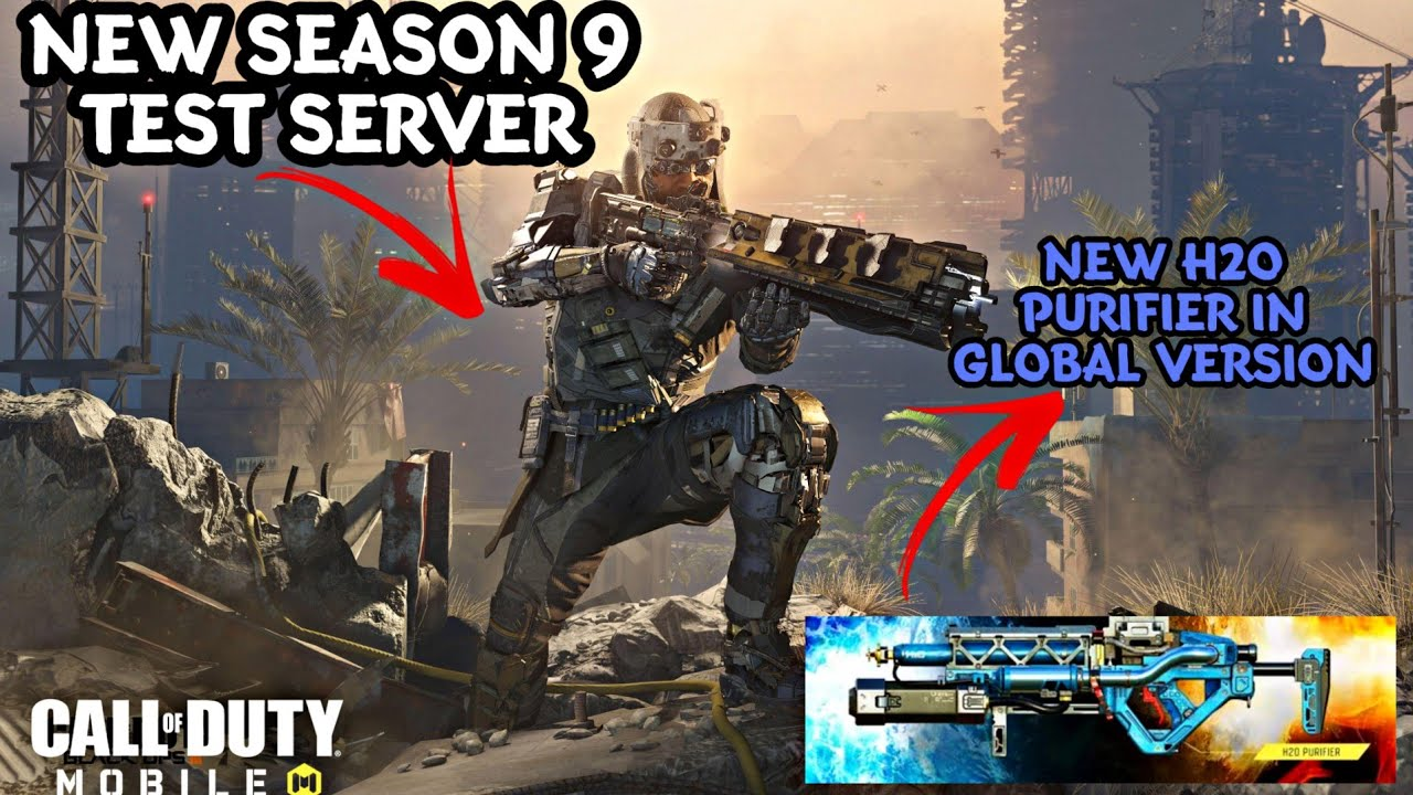 Call Of Duty Mobile New Test Server From Next Week New Purifier Skin Weapon Customisation Soon Vps And Vpn