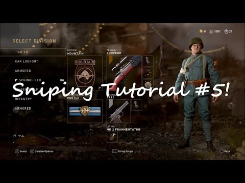 How to quick scope/snipe tutorial! Cod mwr (modern warfare.