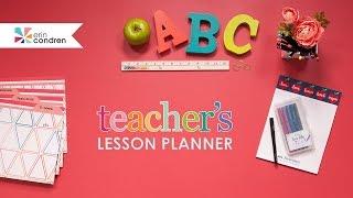 Erin Condren Teacher's Lesson Planner