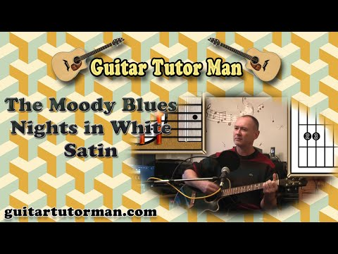 Nights In White Satin - The Moody Blues - Acoustic Guitar Lesson ...
