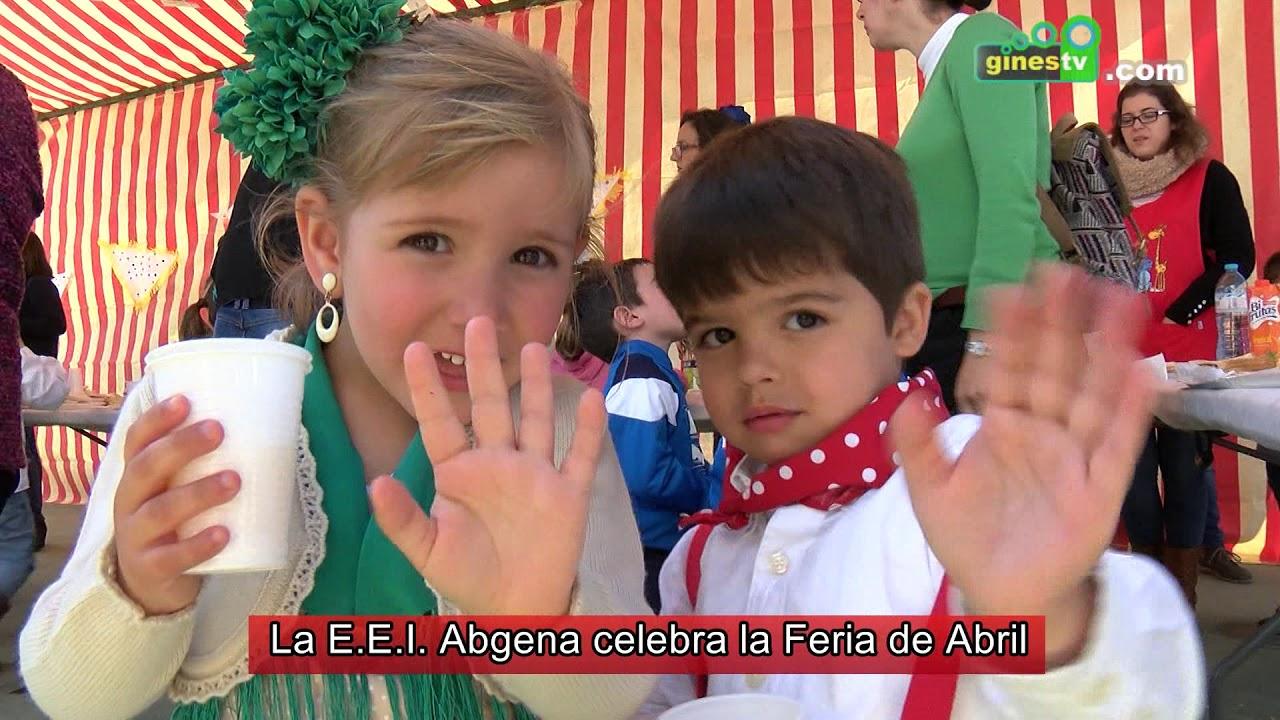 La E.E.I. Abgena de Gines celebra la Feria de Abril