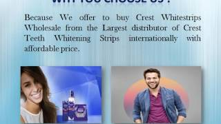 Buy Crest Whitestrips at Wholesale Rate