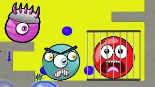 Красный Шарик попал в клетку -  Red Ball только для детей! Серия 6