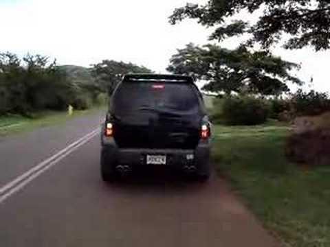 06 Xterra Custom Exhaust Sound Youtube