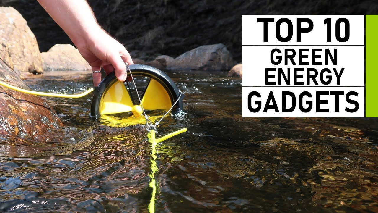 Top 10 Green Energy Gadgets Invention for Camping & Outdoors
