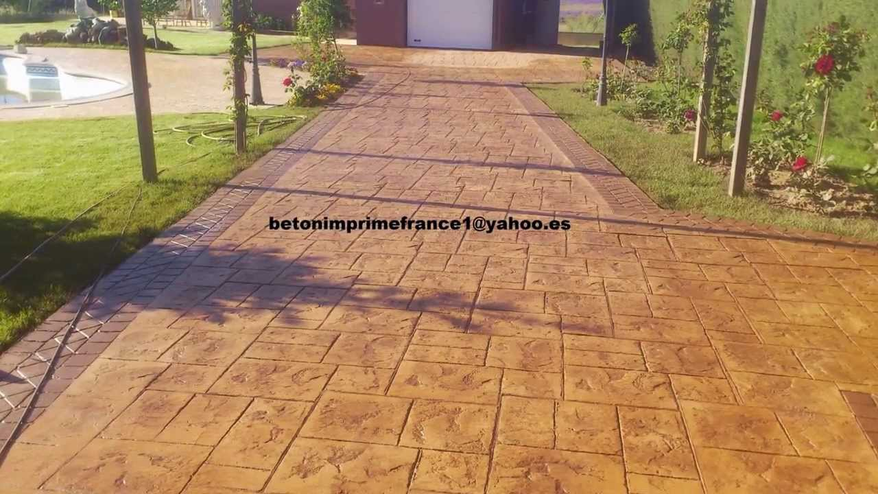 beton imprime narbonne betonimprimefrance1 france youtube. Black Bedroom Furniture Sets. Home Design Ideas