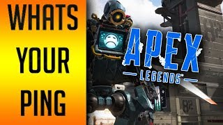APEX LEGENDS GUIDE: How To Check Ping and Packet Loss / Change Servers! All Platforms!