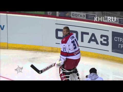 KHL All Star: Конкурс вратарей / Goaltender competition