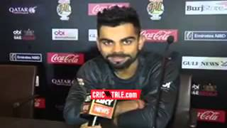 Kohli  Message for PSL Team Karachi Kings must watch