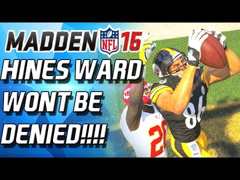 HINES WARD IS A BARBARIAN! WONT BE DENIED! - Madden 16 Ultimate Team