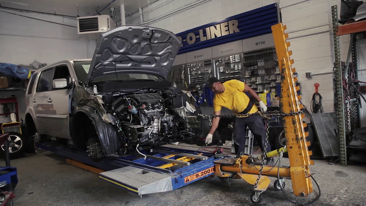 Car-O-Liner Collision Repair For Dealers - YouTube