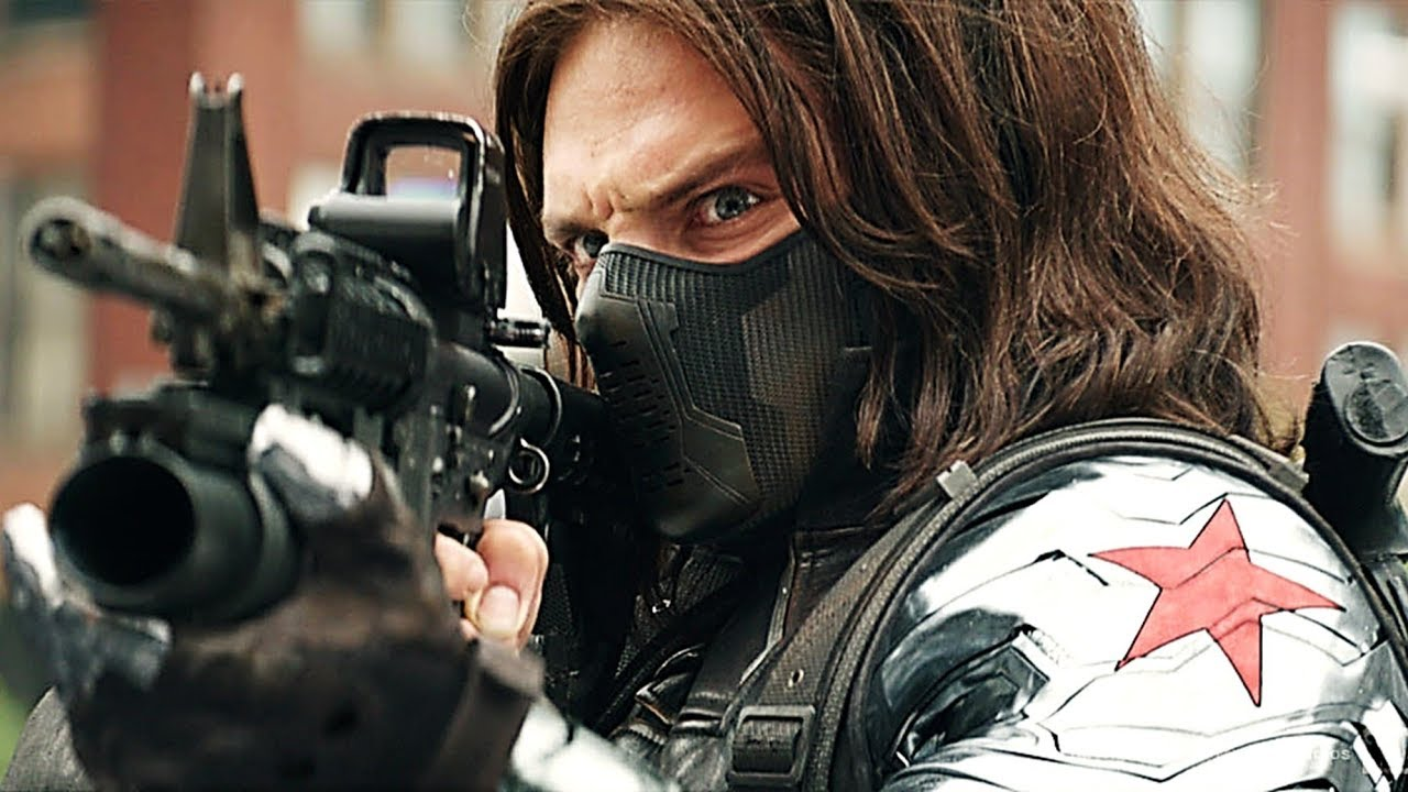 The Winter Soldier - Fight Moves Compilation HD 1080p ...