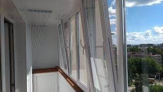 Потолочная сушилка (лиана) на балкон или лоджию. Кратко о принципе ее работы и эксплуатации.