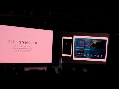 Samsung SideSync 3.0 Demo / Call forwarding and File Transfer