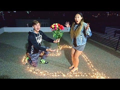 HE ASKED ME TO BE HIS GIRLFRIEND ON CAMERA!! (EMOTIONAL)